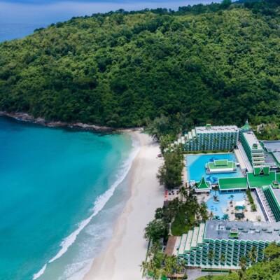 Le Meridien Phuket Beach Resort Aerial