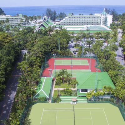 PTL Partner - Tennis at Le Meridien Phuket Beach Resort