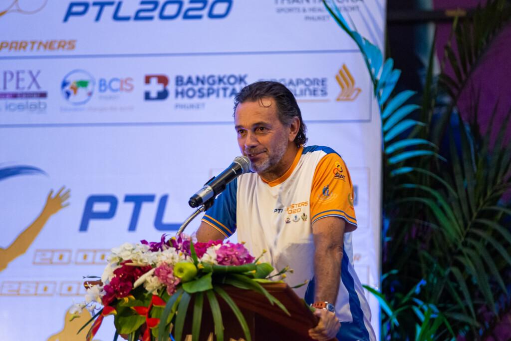PTL Masters 2020 Awards Ceremony David Martin