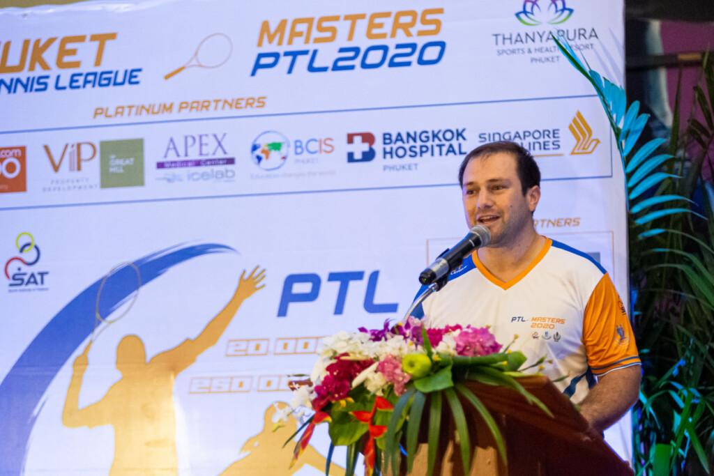 PTL Masters 2020 Awards Ceremony Dorian Bezzina