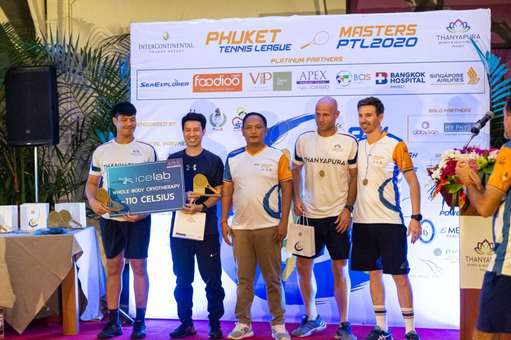 PTL Masters 2020 Awards Ceremony Winner Men Doubles
