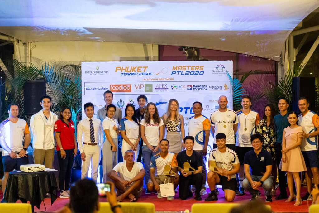 Phuket Tennis League Masters Championship 2020 Awards Ceremony