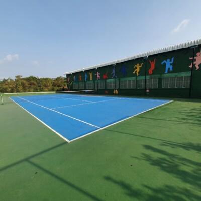 Outdoor Tennis Court Koh Mak Island