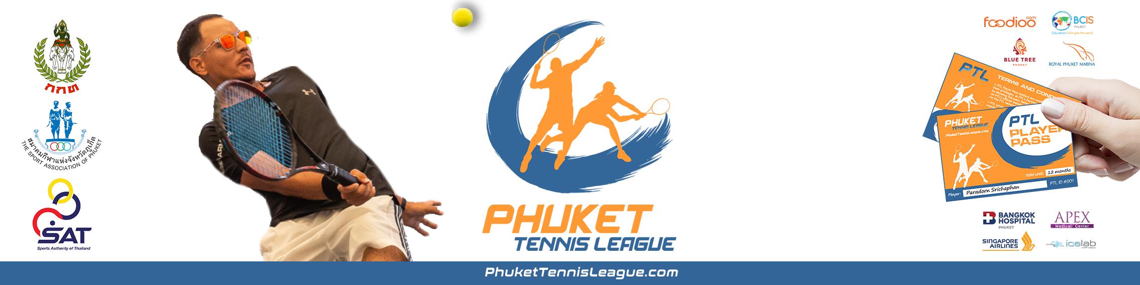 PTL Banner Phuket Tennis League