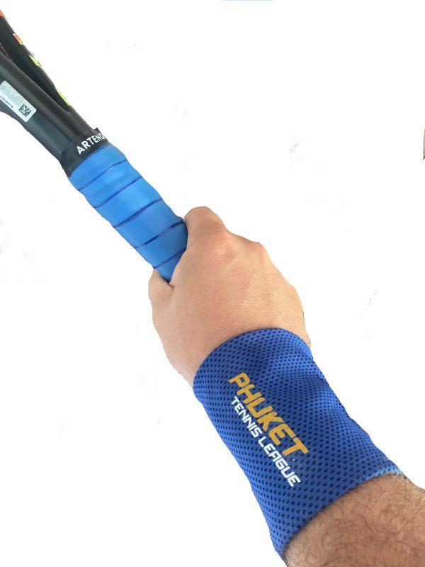 PTL Wristband photo tennis player