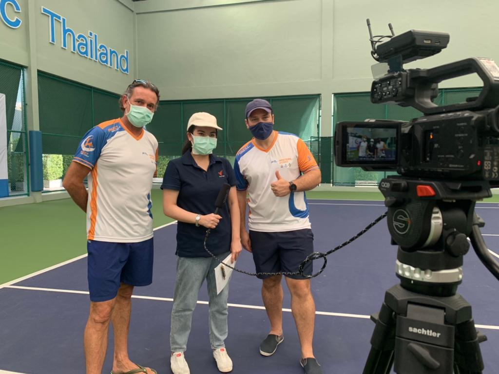 Phuket Tennis League in Thai PBS World Startup Series 2