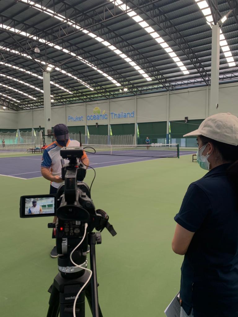 Phuket Tennis League in Thai PBS World Startup Series 3